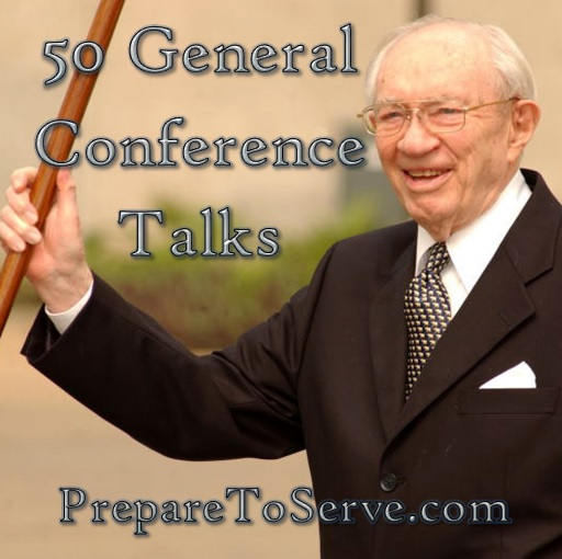 50 General Conference Talks about LDS Missionary Work