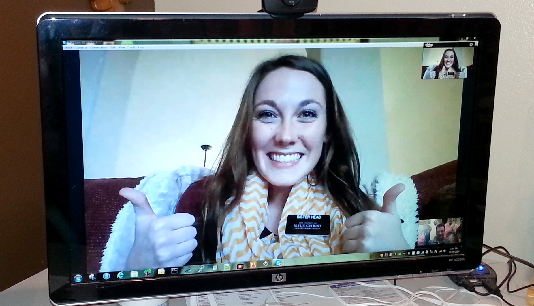 Missionaries From Around the World Skype With Families (Picture Gallery) – Part 1
