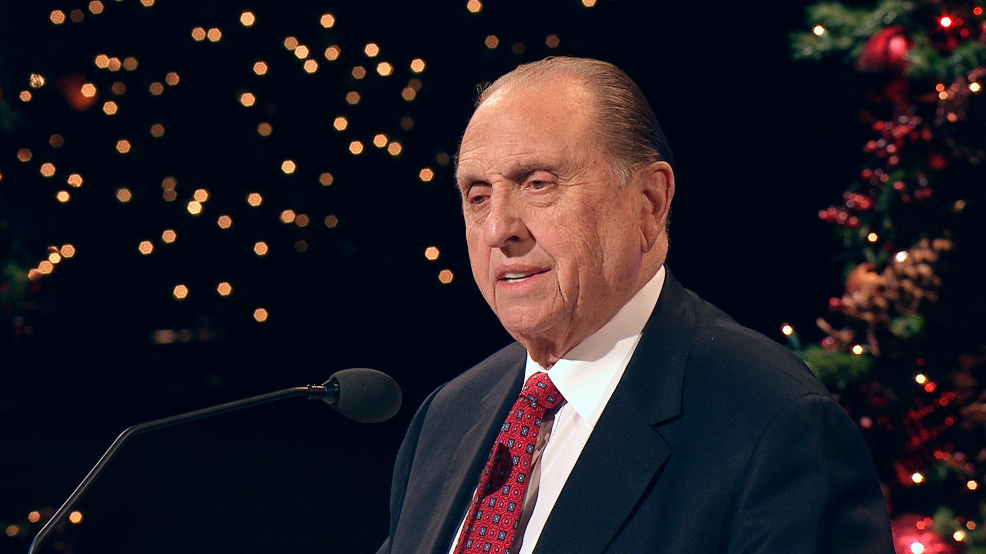 President Monson Shares One of His Most Memorable Thanksgivings