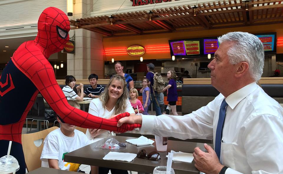 The Unbelievable Story Behind the Viral Spiderman Photo with President Uchtdorf