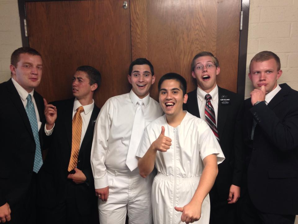 The Book of Mormon Musical Leads One to Baptism in the Mormon Church