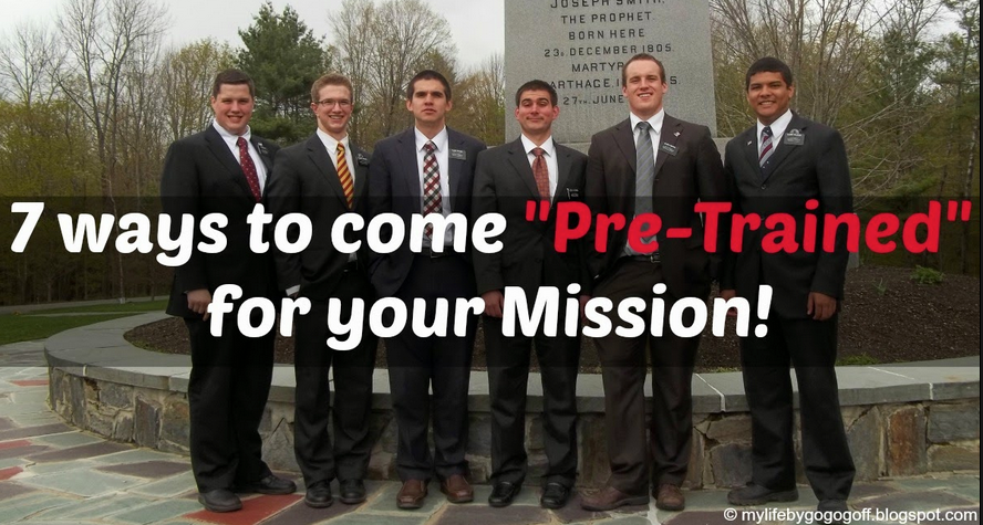7 Ways to Come Pretrained for Your Mission