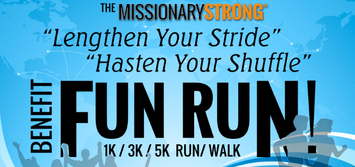 Worldwide Missionary Benefit Fun Run to be Based in Orem Utah