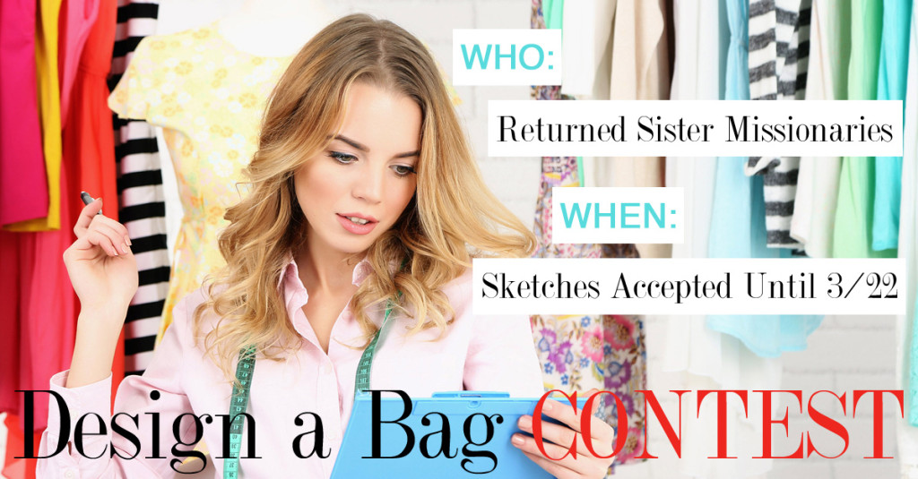 SPONSORED: Contest for Returned Sister Missionaries – Design the Perfect Sister Missionary Bag