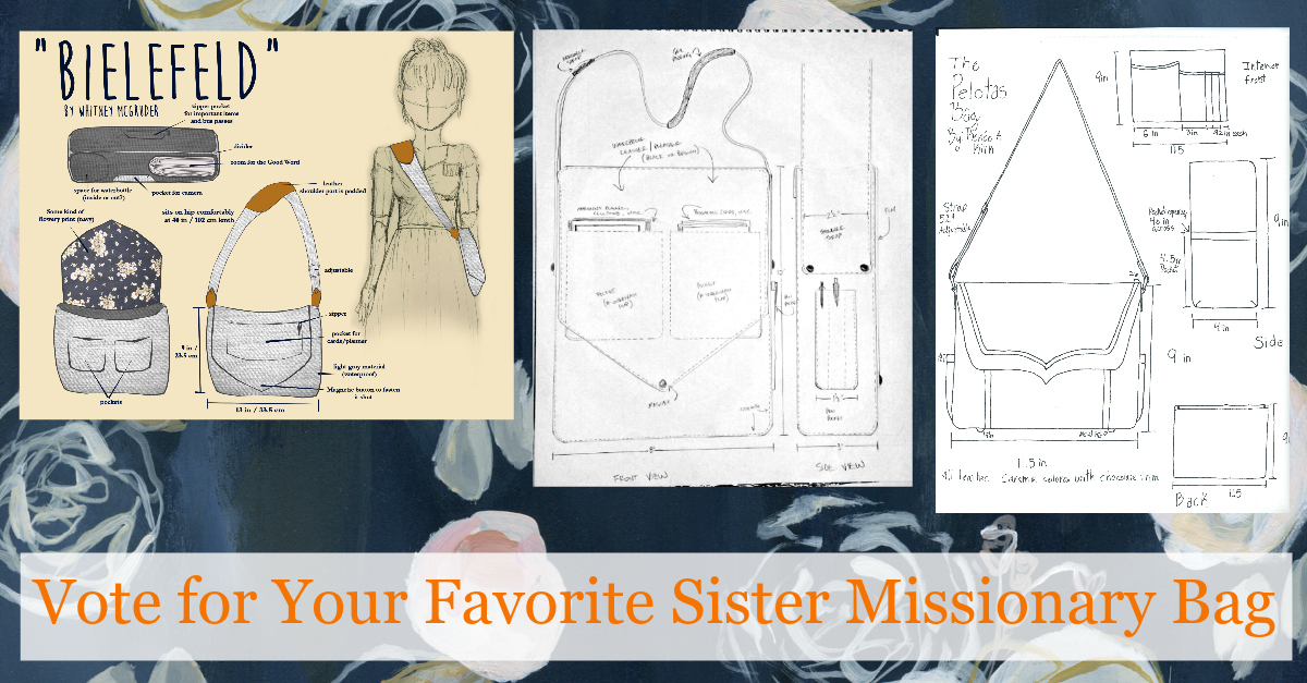 Vote for Your Favorite Sister Missionary Bag