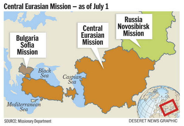 New Central Eurasian LDS Mission Slated to Open in July