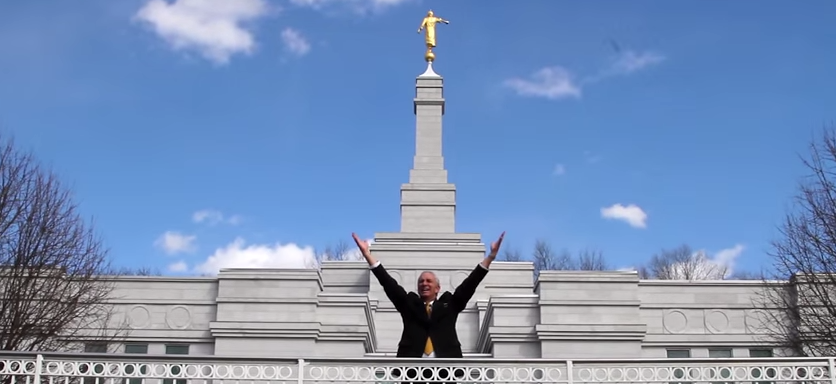 "Senior Missionary Sings NEW Parody of Book of Mormon Musical's ""I Believe"" – Video"