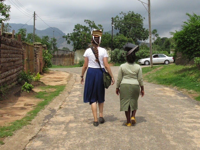 LDS Sister Missionaries in Africa