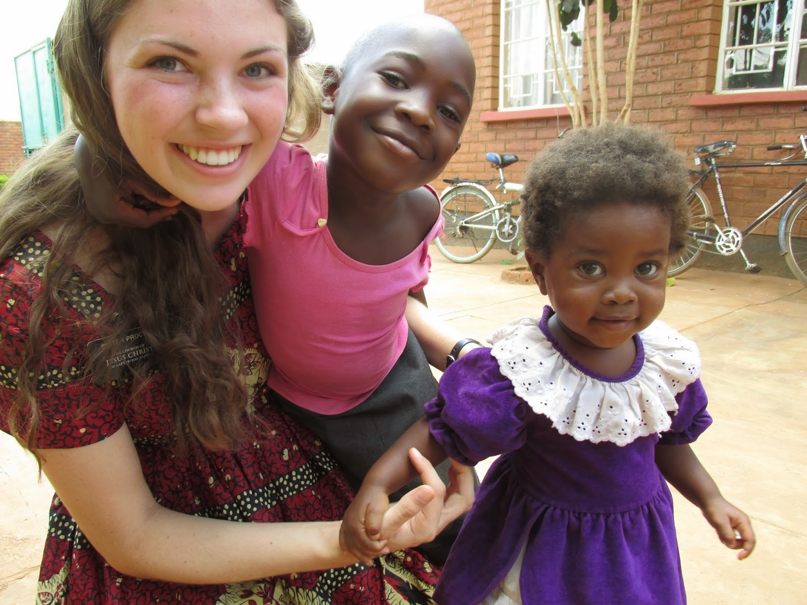 LDS Sister missionary africa