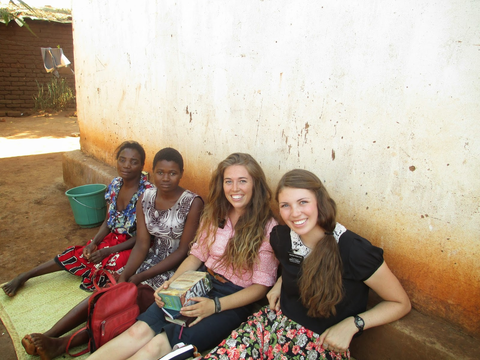 LDS Missionaries in Africa
