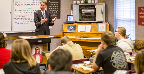 Attend Seminary to prepare for an LDS Mission