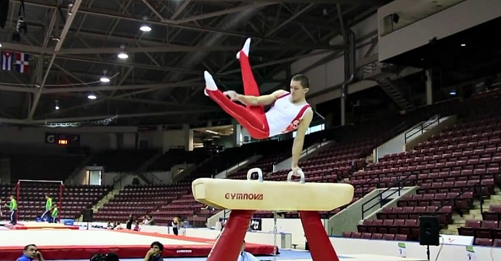 Canadian Gymnast Returns from Mormon Mission and Looks to the Olympics