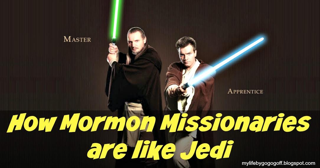 14 Ways Mormon Missionaries are like Jedi