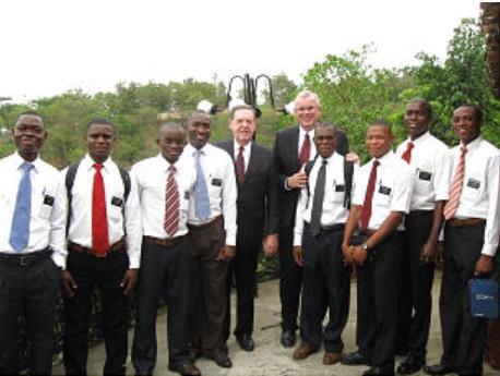 LDS missionaries in Burundi