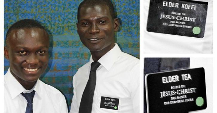 Ghana MTC: Elder Koffi and Elder Tea