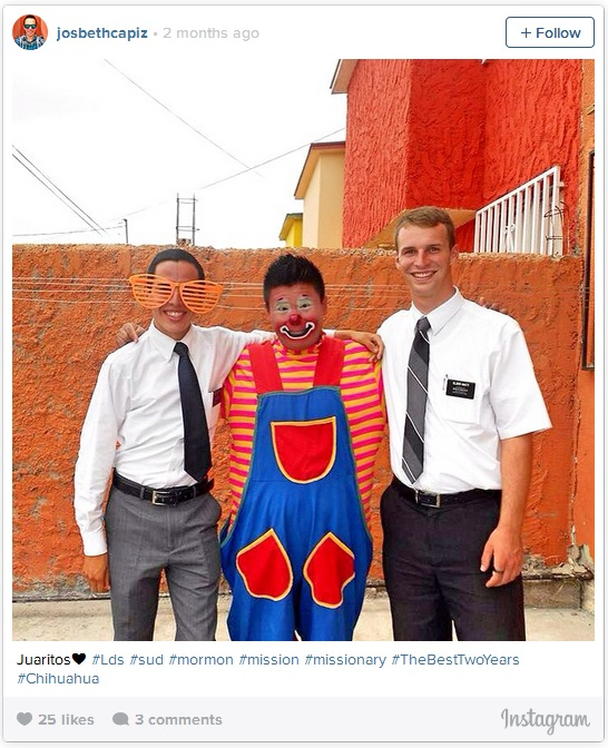 LDS mission funny photos