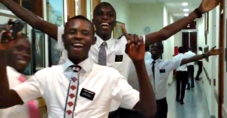 Video: How Missionaries Leave the MTC in Ghana