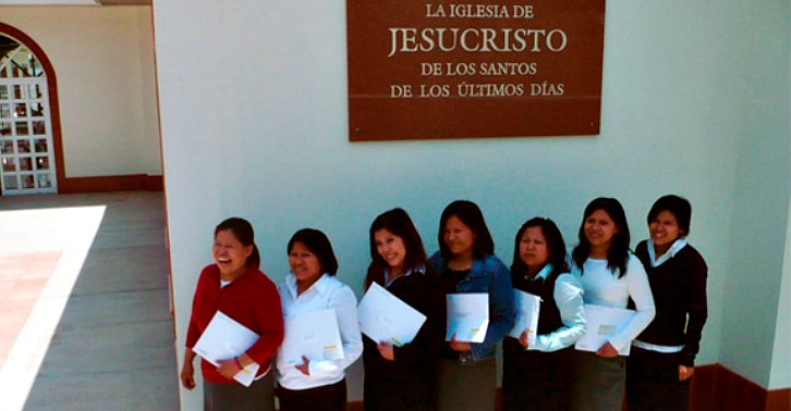 Throwback Thursday:  Seven Sisters Shine Their Light in the Mission Field