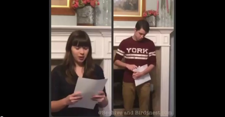 Video: Siblings Open LDS Mission Calls on the Same Day