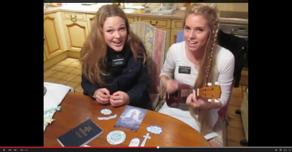 Wow! Sister Missionaries Sing the Plan of Salvation—'Let's Walk Each Other Home'