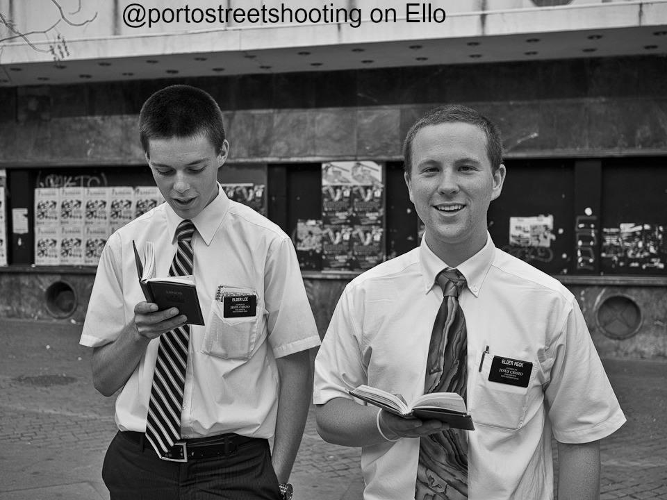 The Best (and perhaps ONLY) LDS Missionary Post on Ello