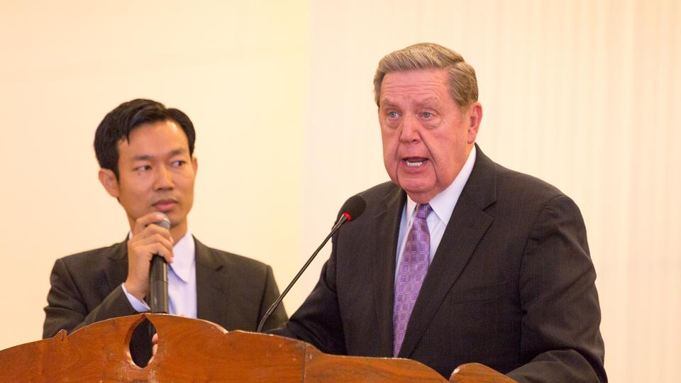 Elder Holland tells Cambodian Saints about the time when he was lost