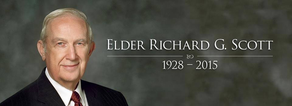 Elder Richard G. Scott is Honored and Remembered with Love