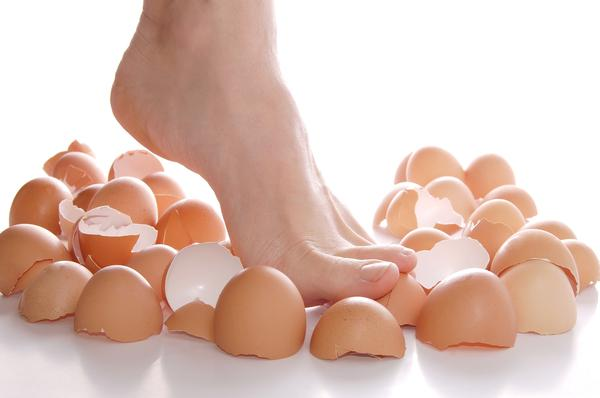 The era of walking on eggshells