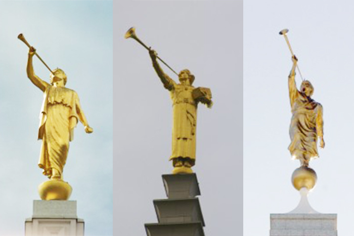 The Fashions of the Angel Moroni Statue
