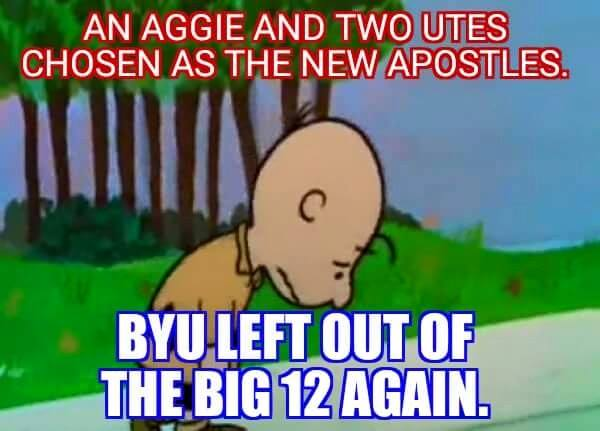 BYU left out of big 12