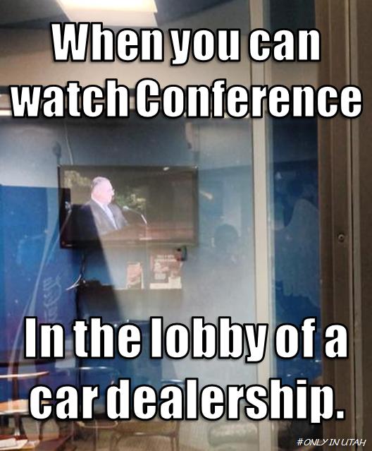 Conf at dealership