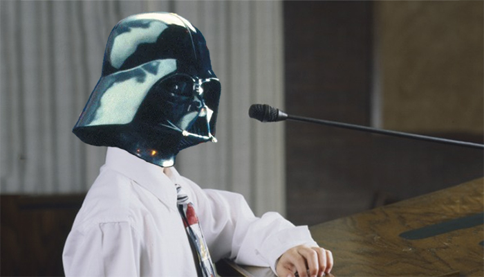 Darth Vader's Guide to Sacrament Meeting Talks