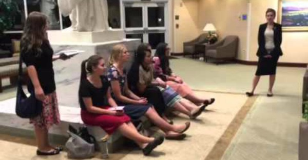 Beautiful Rendition of 'A Child's Prayer' by Sister Missionaries