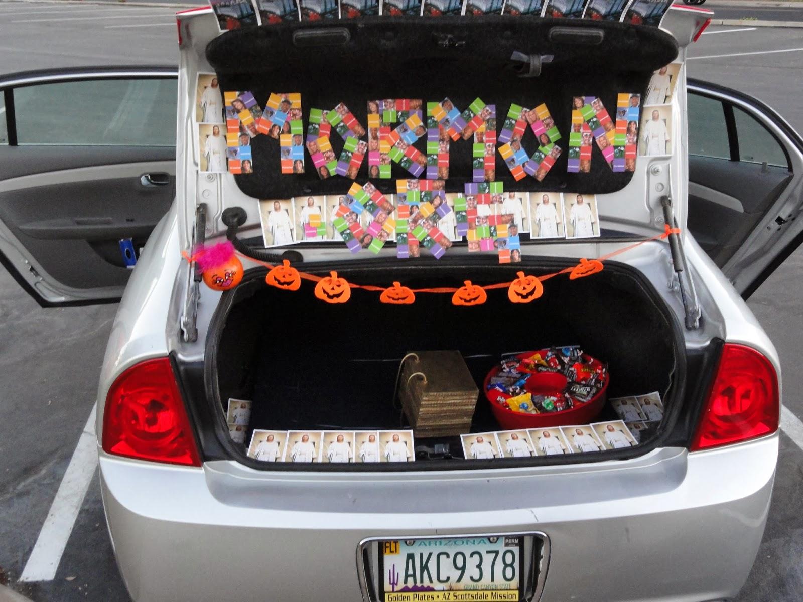 "Using Pass Along card helped them get the ""Winner of the ""Best Trunk"" Award!""  via spencergroneman.blogspot.com"