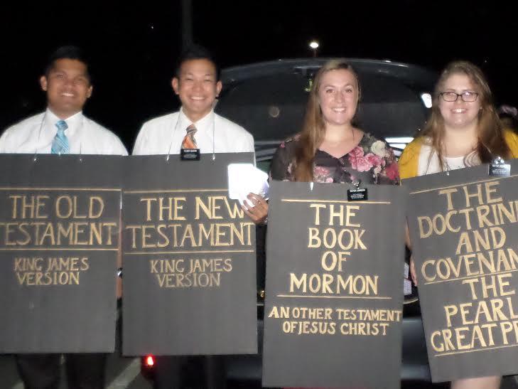 """The Quad. Scripture power, right here"" via apeculiargirl.wordpress.com"