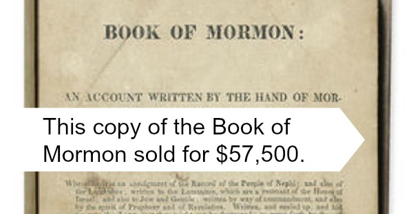 Why historic Mormon books are popular among collectors