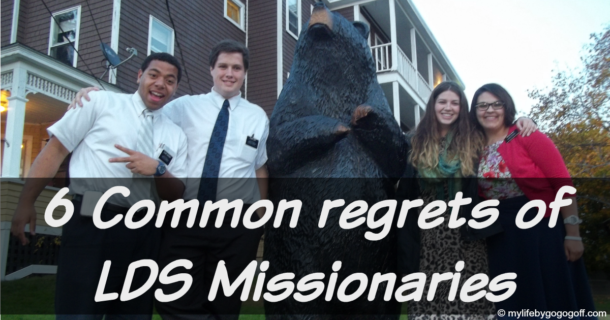 6 Common regrets of LDS Missionaries
