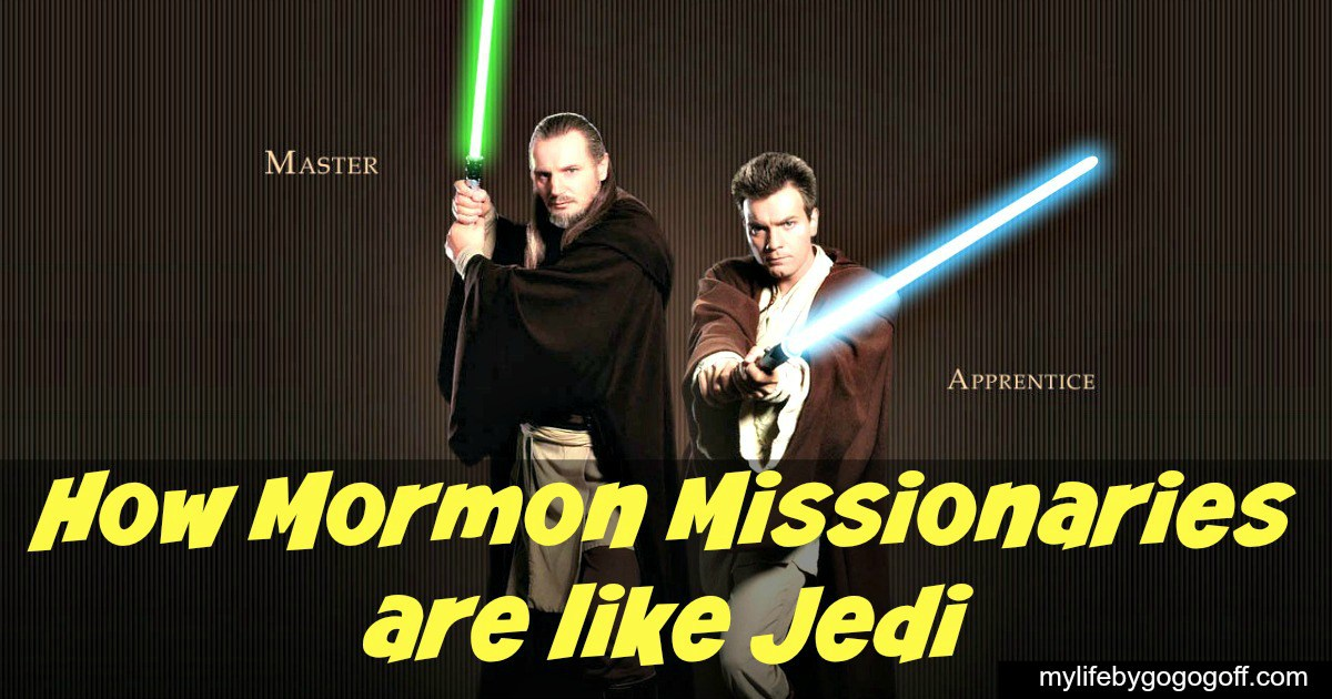 How Mormon Missionaries are like Jedi
