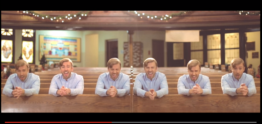 "Mormon.org Shares Peter Hollens' 6-Part Harmony of ""Mary Did You Know?"