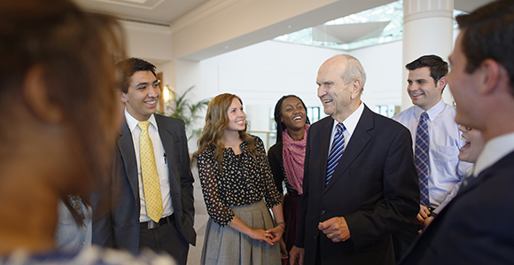 Worldwide Devotional for Young Adults: President Nelson