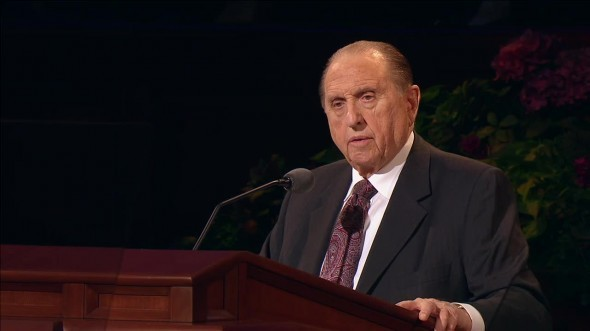 President Monson's Powerful Pre-Conference Message