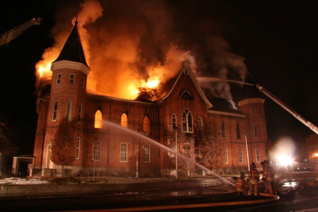 The Unusual Prompting a Firefighter Received that Saved the Walls of the Provo Tabernacle