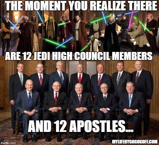12 Jedi 12 Apostles