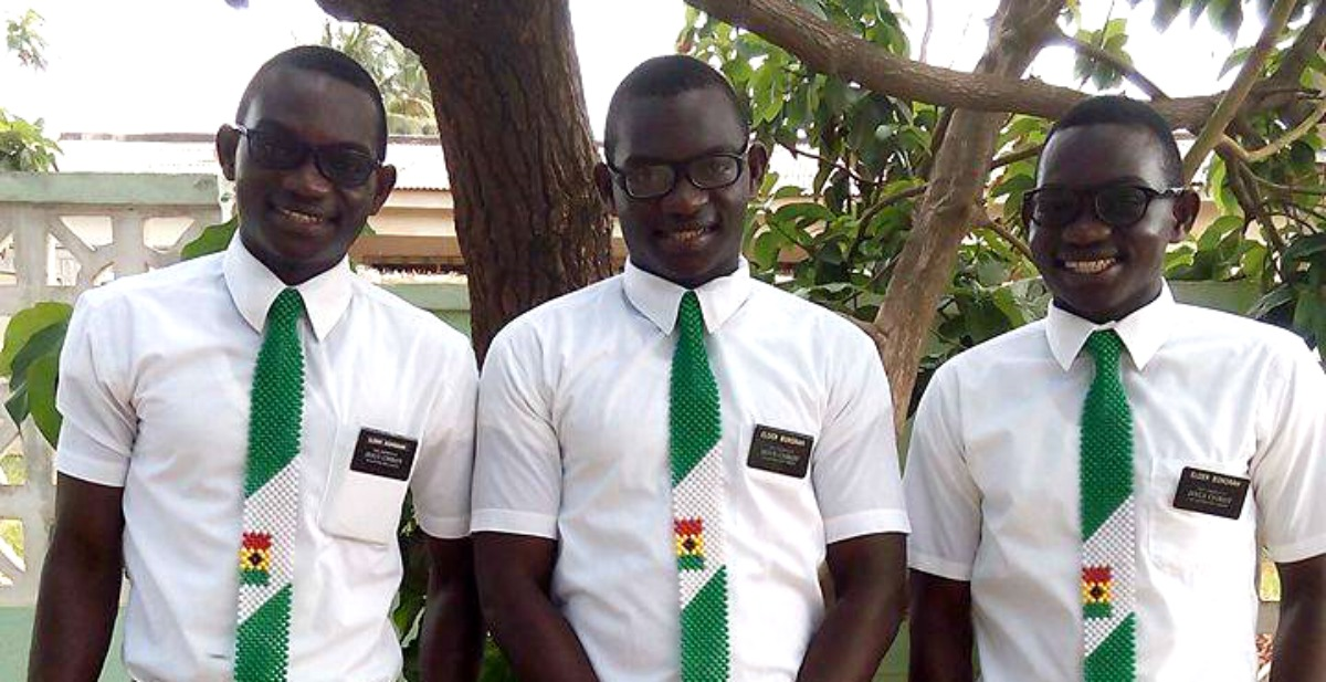 Ghanaian Triplets Return with Honor from 3 Separate Nigerian Missions