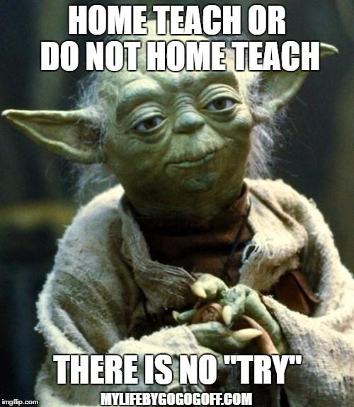Home Teach Yoda