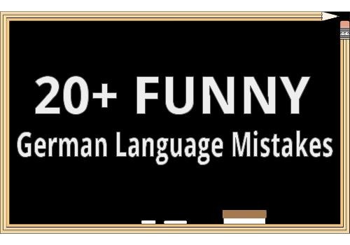 20+ Language Mistakes German-Speaking Missionaries Have Made