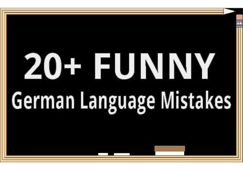 20+ Language Mistakes German-Speaking Missionaries Have Made