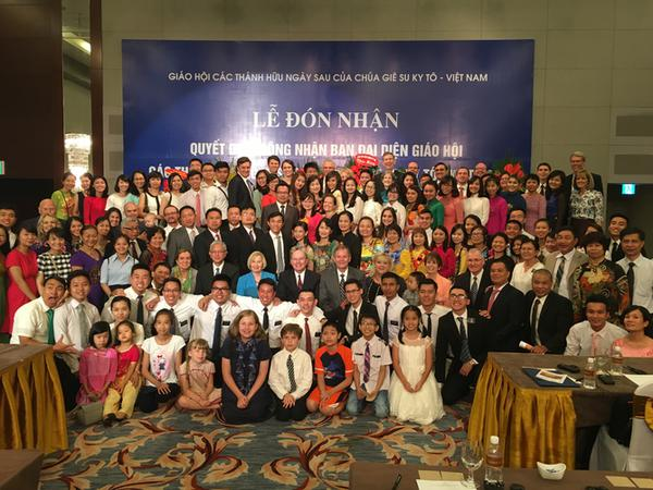 Vietnam grants full recognition of Mormon Church