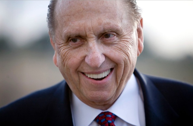 President Monson's Message to All Mormons Right Now