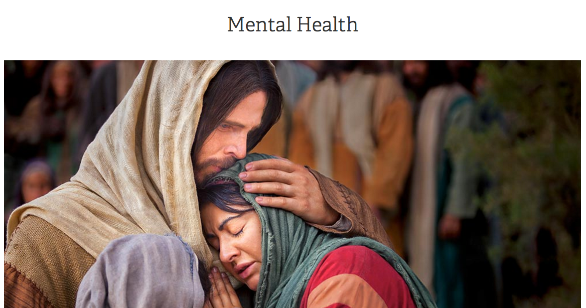 Church Offers New Mental Health Resources Website